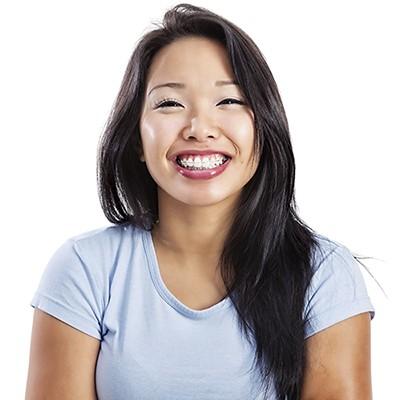 Smiling Asian Ortho